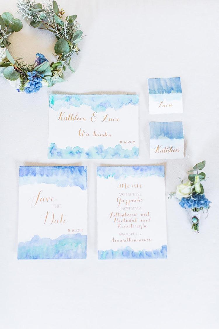 Hochzeits Lettering Save the Date - Einladung - Namenskärtchen