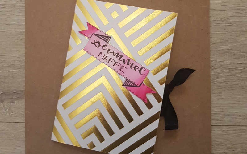 DIY Sammelmappe für Letterings selber machen - einfache Anleitung