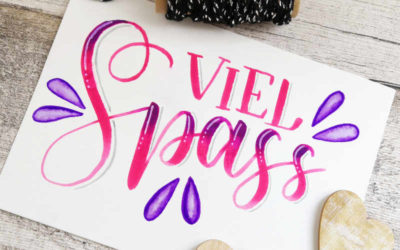 Die 5 grössten Fehler, die Lettering Anfänger machen