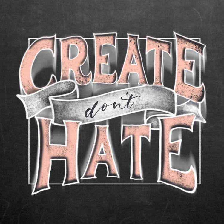 Handlettering: Create don't hate