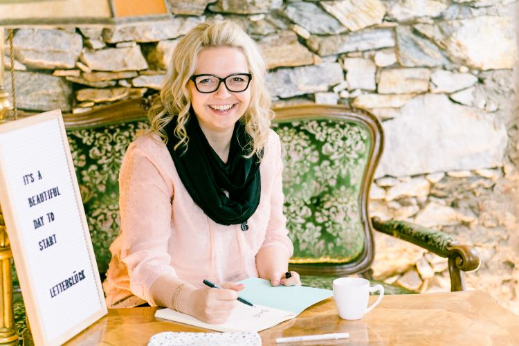 Katja Haas zu Gast bei den Letter Lovers