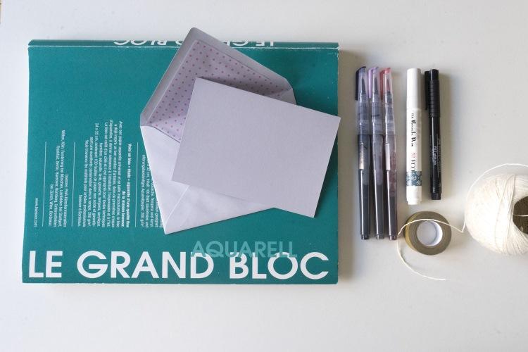 Material für dein Handlettering