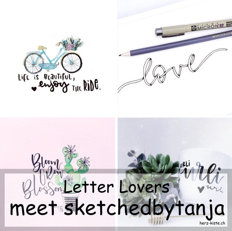 Handletterings von sketchedbytanja als Collage