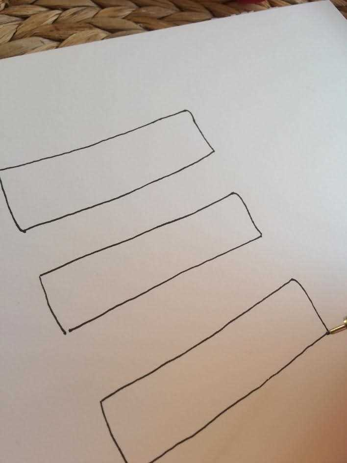 Viereckige Kästen als erster Schritt um einen Banner zu zeichnen