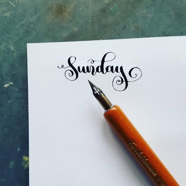 Sunday Kalligrafie