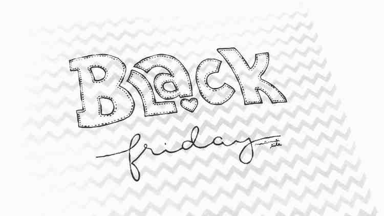 Black friday - Lettering