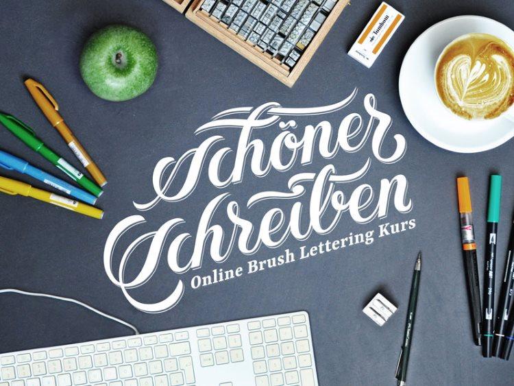 schöner schreiben - Handlettering