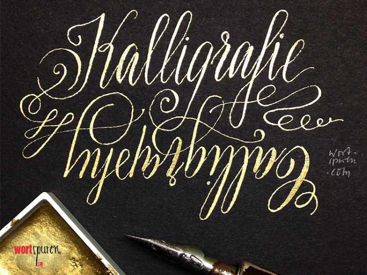 Kalligrafie - Handlettering