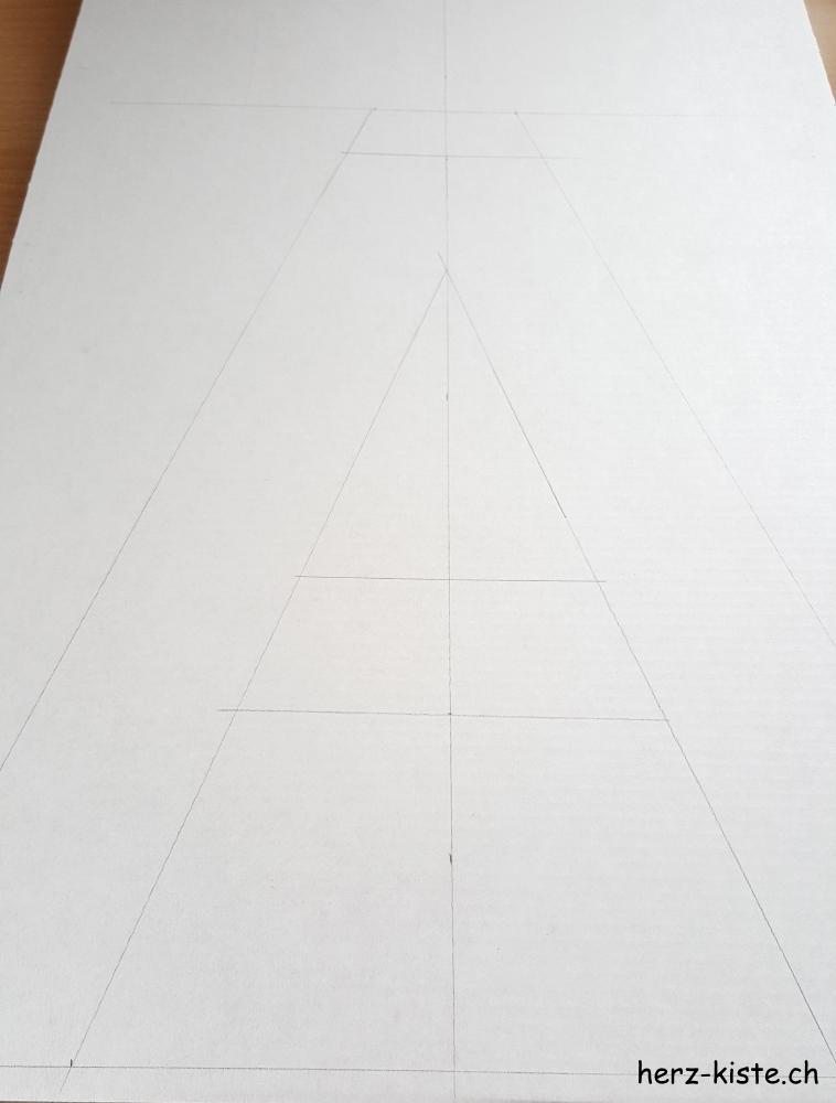Buchstabe skizzieren