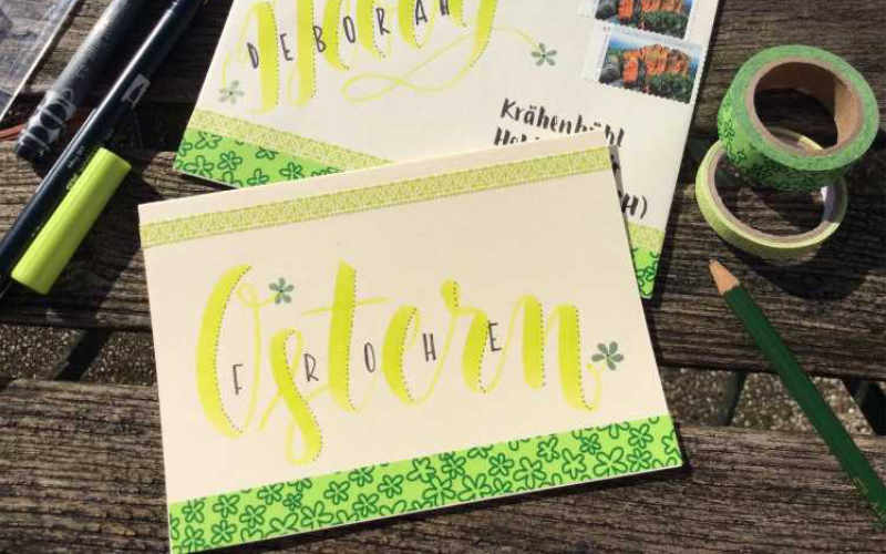 Letter Lovers: zwischen2stuehlen zu Gast