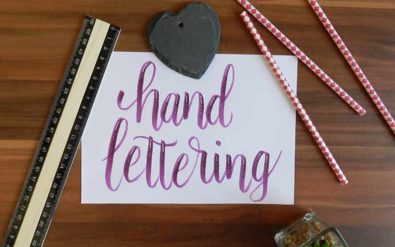 Handlettering: 5 kreative Anleitungen (Teil 1)