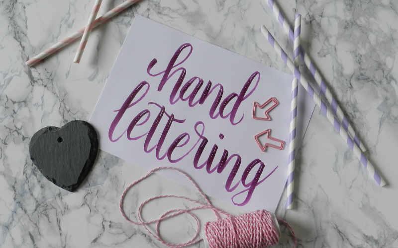 Handlettering: 5 kreative Anleitungen (Teil 4)