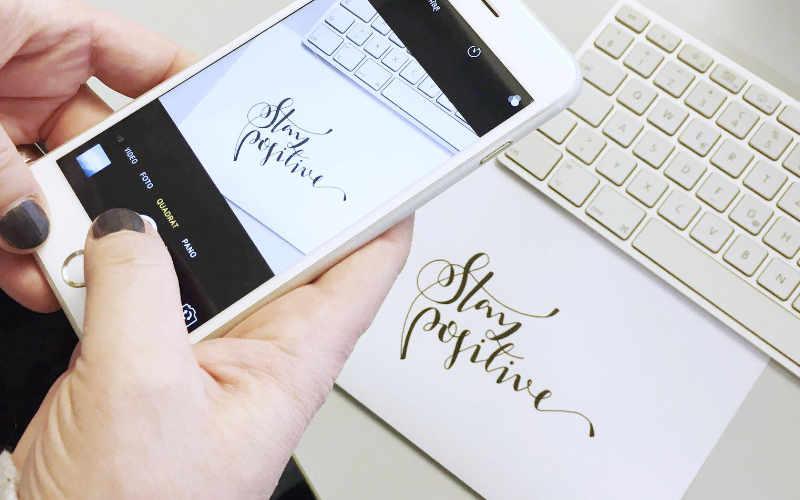 Lettering digitalisieren - eine einfache Anleitung