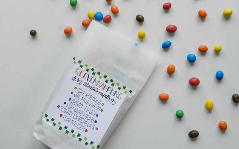 Geschenkidee zur Lernmotivation: Nervennahrung