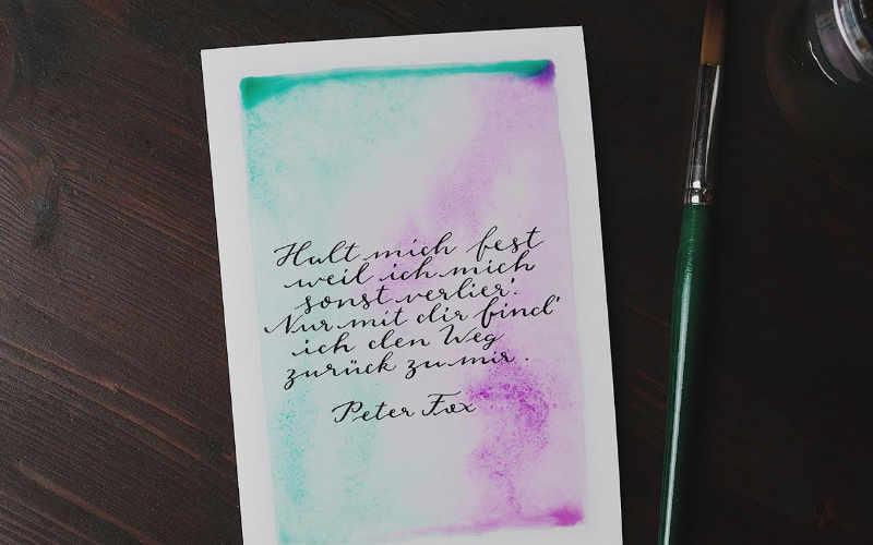 Letter Lovers: vierneuntel zu Gast