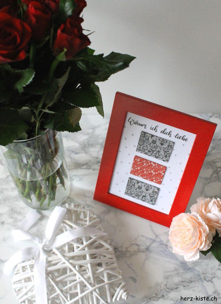 Warum ich dich liebe - persönliches Geschenk zum Valentinstag