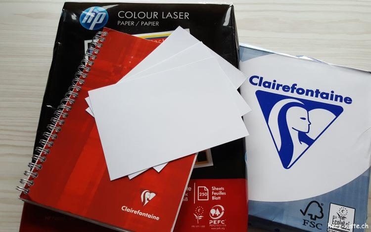 Papier Empfehlung für Lettering Anfänger