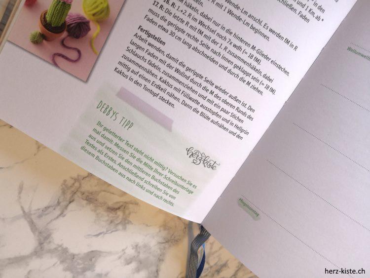 Debbys Tipp im Buch kreatives Jahr vom Topp Verlag