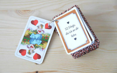 Liebeserklärung: 52 Dinge die ich an dir Liebe