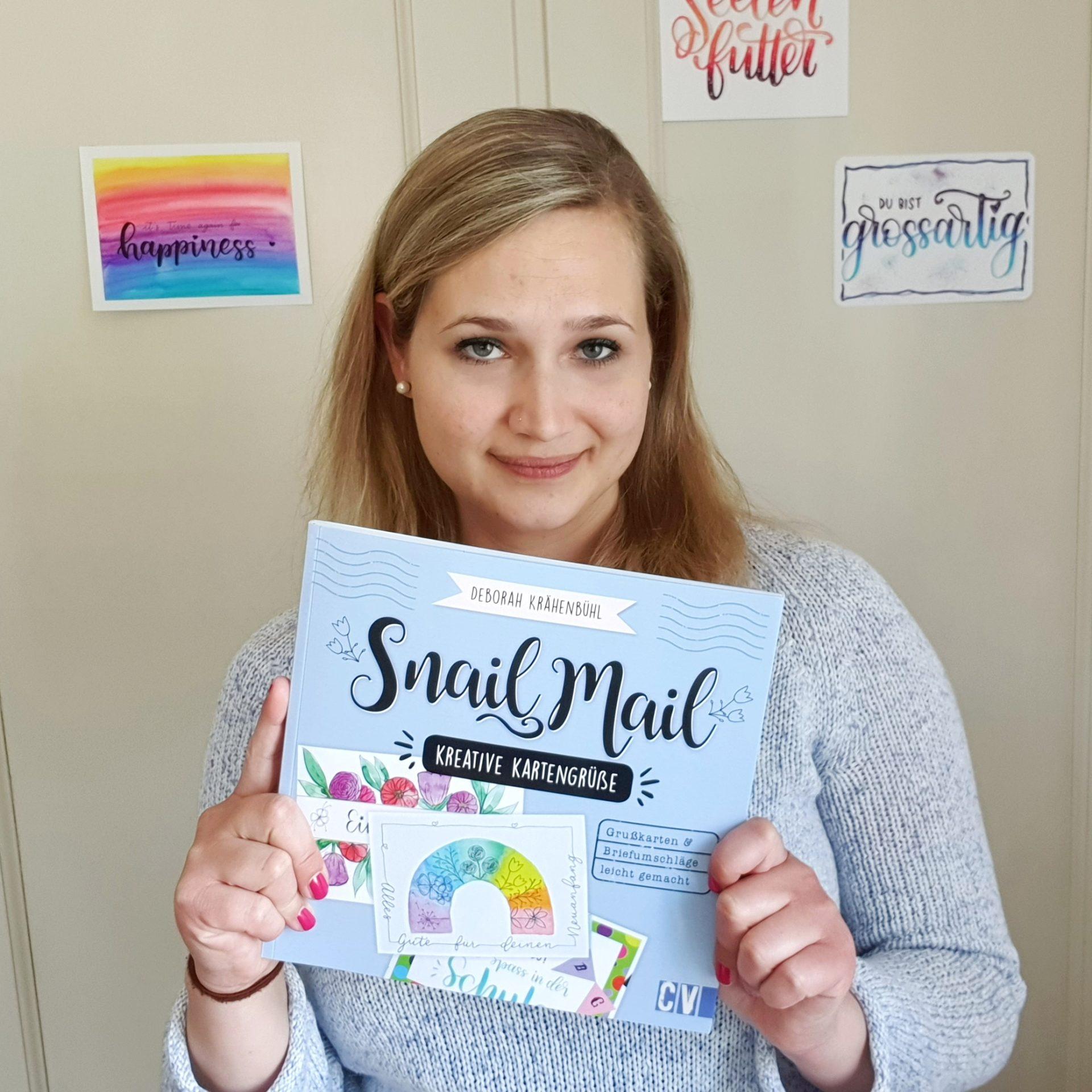 Snail Mail - kreative Kartengrüsse - ein DIY Anleitungsbuch von Deborah Krähenbühl
