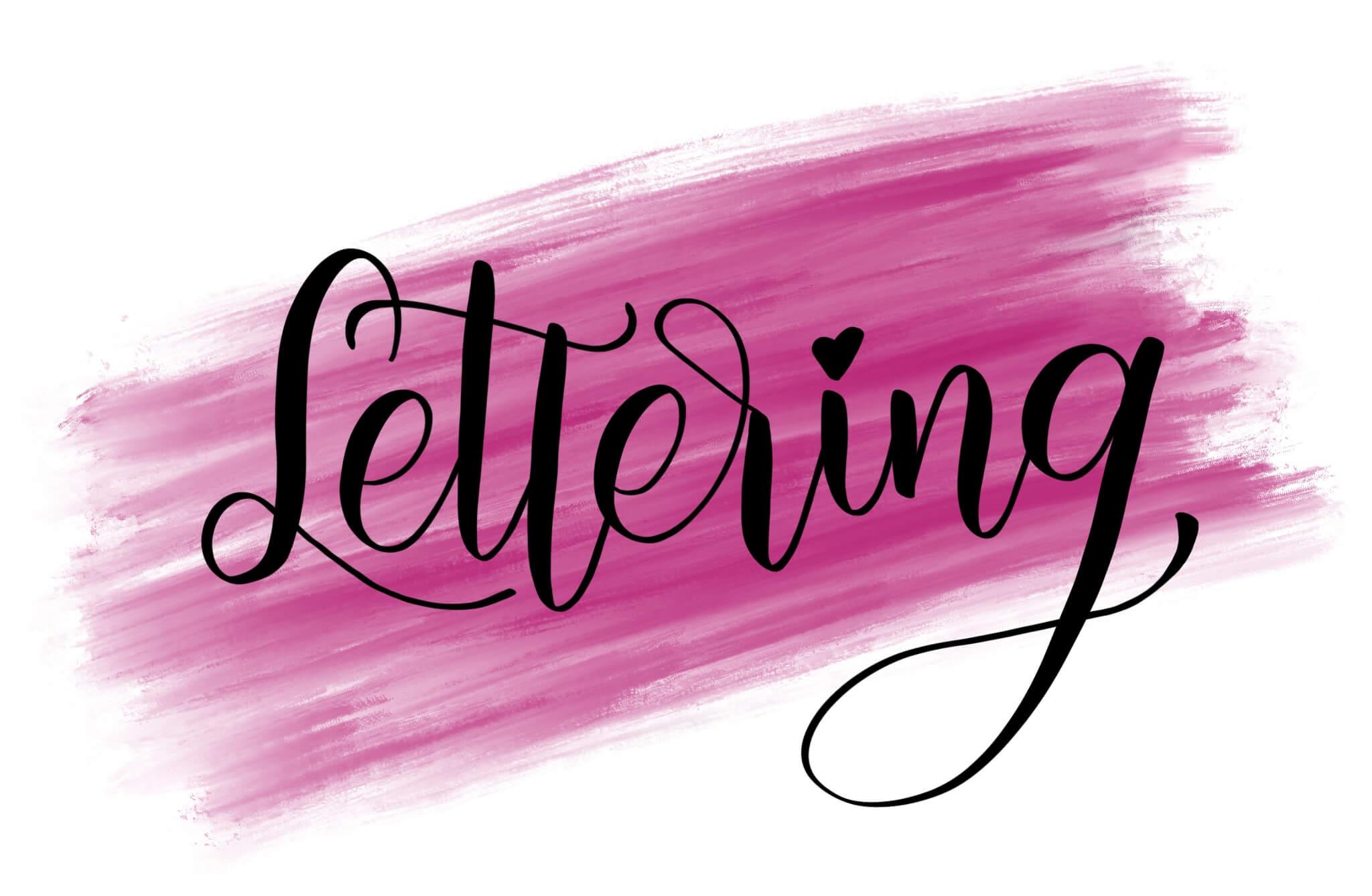 Lettering - schöne Schriften selber gestalten